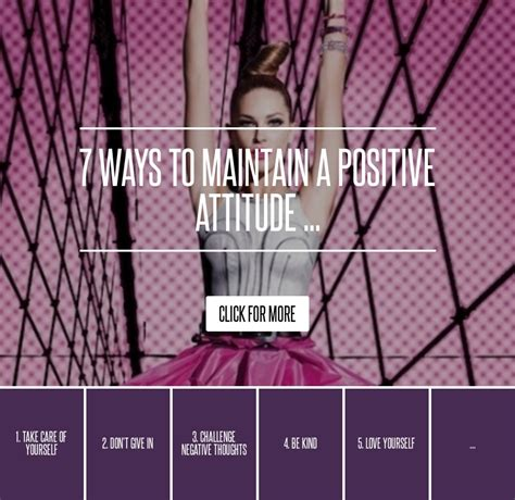 8 Tips On Maintaining A Attitude At Work by 7 Ways To Maintain A Positive Attitude Inspiration