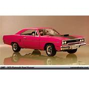 Diecast King GMP 1970 Plymouth Road Runner Moulin Rouge