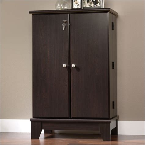 multimedia storage cabinet camarin multimedia storage cabinet in jamocha wood 414708