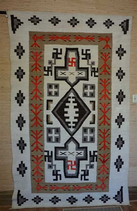 This Plate Is A Rug by Jb Trading Post Navajo Rug Weaving Variant