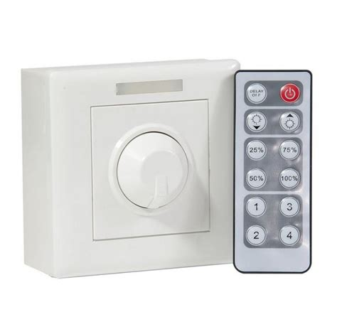 remote dimmer light led 12v dimmer with 12 key remote control 100 watt