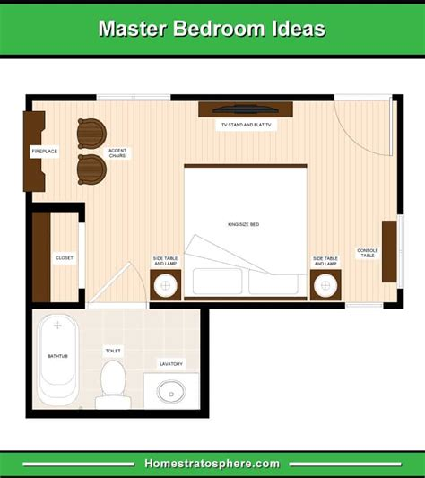 master bedroom floor plans computer layout drawings