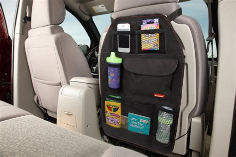 diono stow n go highly back seat organizer less than 8