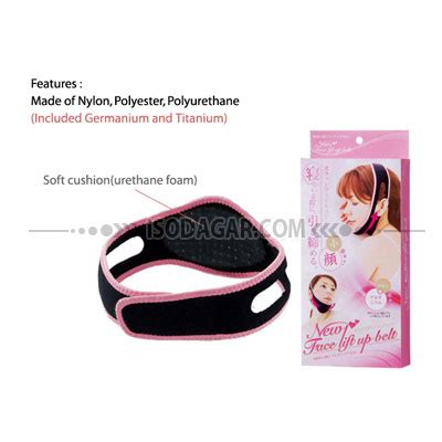 Slimming Belt Lift Up Belt Penirus Wajah Pipi alat penirus pipi lift up belt isodagar