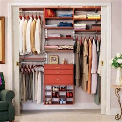 Closet Ideas For Small Spaces | small home organization needs efficient closet space