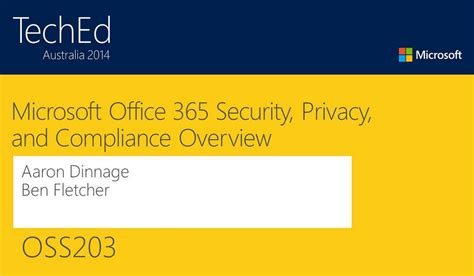 microsoft office 365 security privacy and compliance