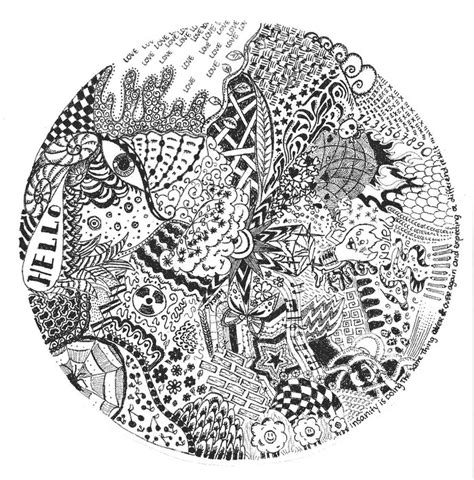 doodle circle of circle doodle by eef25