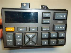 Gmc truck suburban blazer delco oem radio tape deck amp c k 1500 1988
