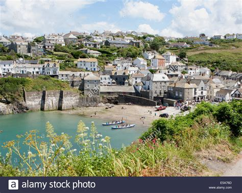 The Harbour At Port Isaac In North Cornwall Known Around The House Port Isaac