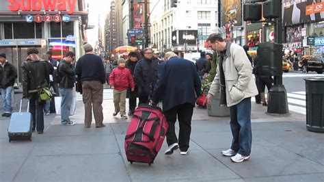 Awkward Out In Ny by Pointing At Nothing An Idiot In New York City