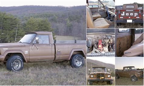 jeep gladiator 1966 1966 jeep gladiator j 3000 breezewood pa 2750 ewillys