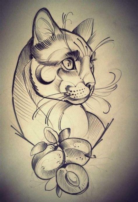 imagenes sorprendentes de tatuajes las 25 mejores ideas sobre tatuajes de gato en pinterest