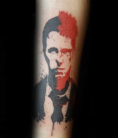 70 fight club tattoos for men masculine design ideas