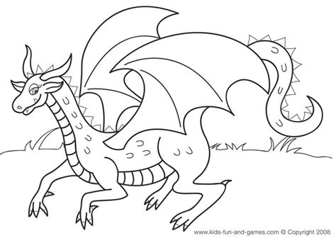 kids dragon coloring sheets   kids games central