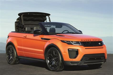 range rover where are they made 2017 range rover evoque convertible yes they really made