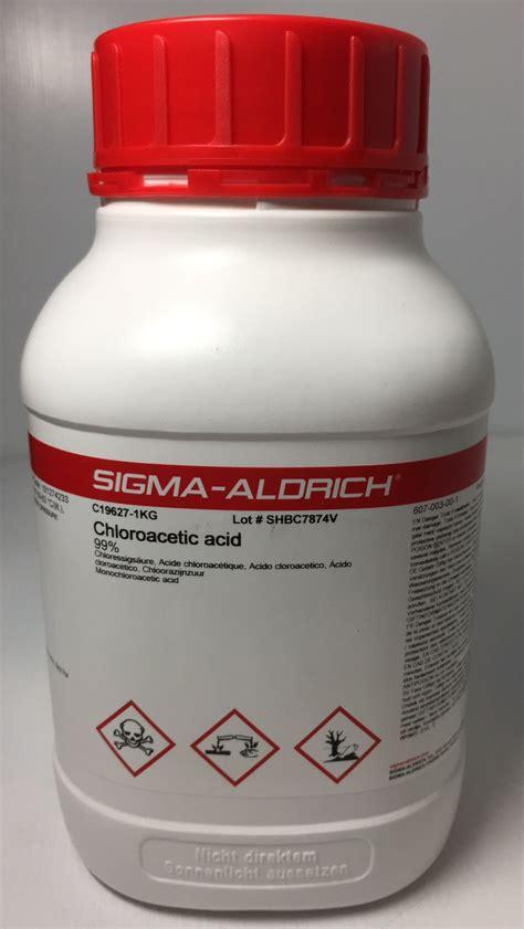 Merck 1 06404 Sodium Chloride 500 G chloroacetic acid 99 1 kg sigma aldrich