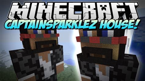captainsparklez house in minecraft captainsparklez house build showcase