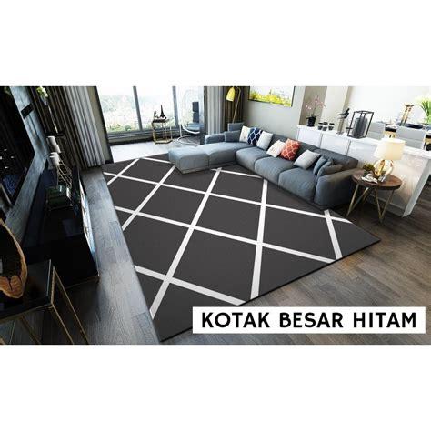 karpet modern minimalis karpet premium quality shopee