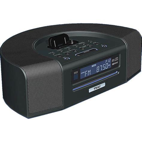 desk radio cd player teac sr l280i b ipod iphone dock radio w usb sr l280i b
