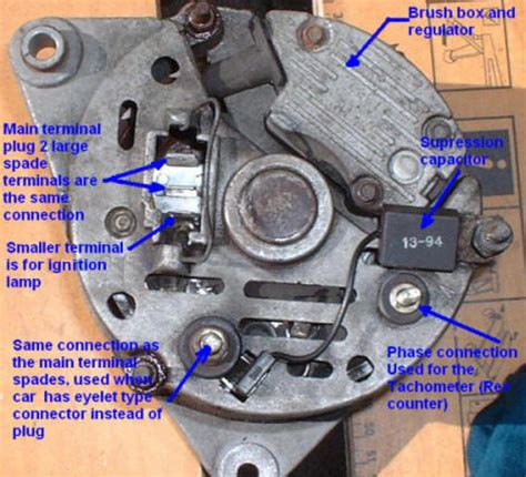 image gallery lucas alternator connections