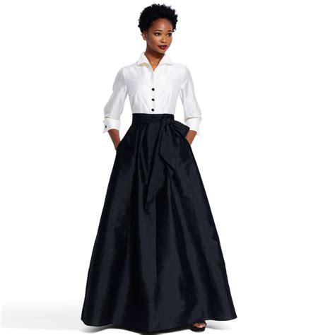 Black Long Formal Skirt   Dress Ala