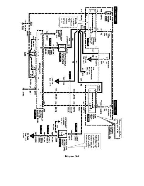 2006 ford ranger fuel wiring diagram efcaviation