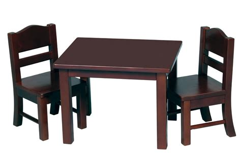 Table And Chairs by Guidecraft Doll Table And Chair Set Toys Dolls
