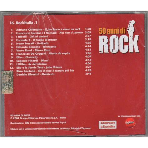 Hoodie Vasco Blasco rockitalia 1 50 anni di rock italian 2004 espresso promo cd sler unique ps sealed copy
