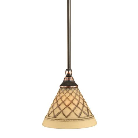 Black And Copper Pendant Light Filament Design Concord 1 Light Black Copper Incandescent Ceiling Pendant Cli Tl5002884 The