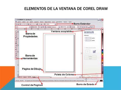 corel draw x6 y sus elementos corel draw