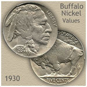 1930 nickel value discover your buffalo nickel worth