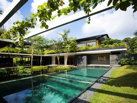 guz architects green roofed cluny house showcases low energy luxury in