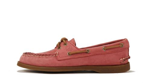 red boat shoes womens sperry topsider for women a o washed red boat shoe red