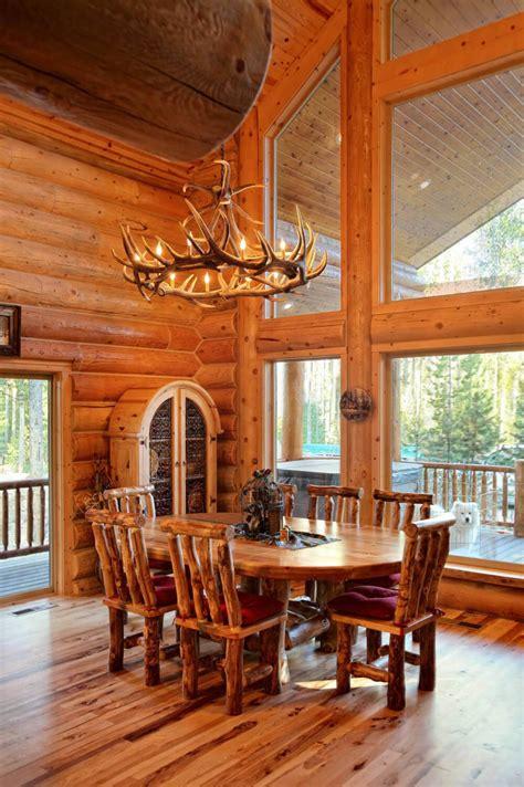 interior design for log homes log home interiors yellowstone log homes