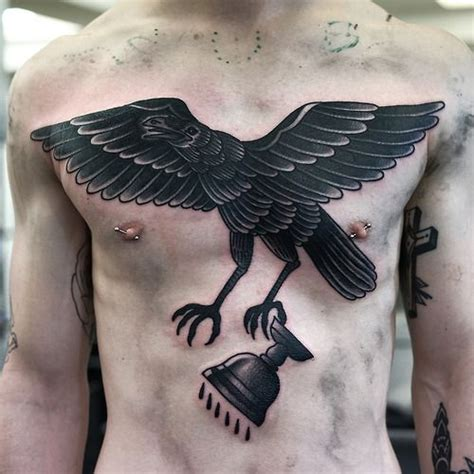 old crow tattoo tattoos designs ideas and meaning tattoos for you