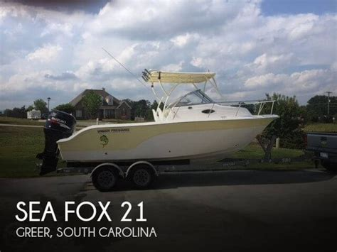 sea fox boats mt pleasant sea fox new and used boats for sale in south carolina