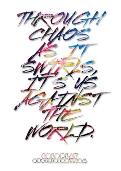 coldplay us against the world us against the world quotes quotesgram