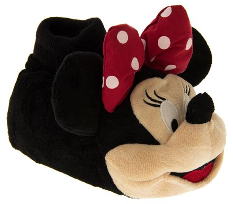 minnie mouse slippers disney minnie mouse mickey club slippers size 5 14