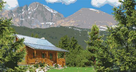 Cabins In The Rocky Mountains by Estes Park Central Estes Park Lodging Estes Park