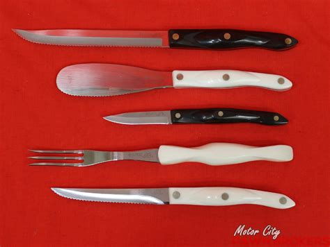 cutco kitchen knives cutco kitchen knives cutlery assorted 10pc household knife set ebay