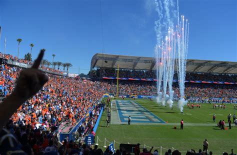 stubhub broncos chargers bonsignore chargers enjoy feeling of home field advantage