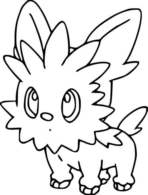 pokemon coloring pages lillipup coloriage ponchiot pokemon 224 imprimer