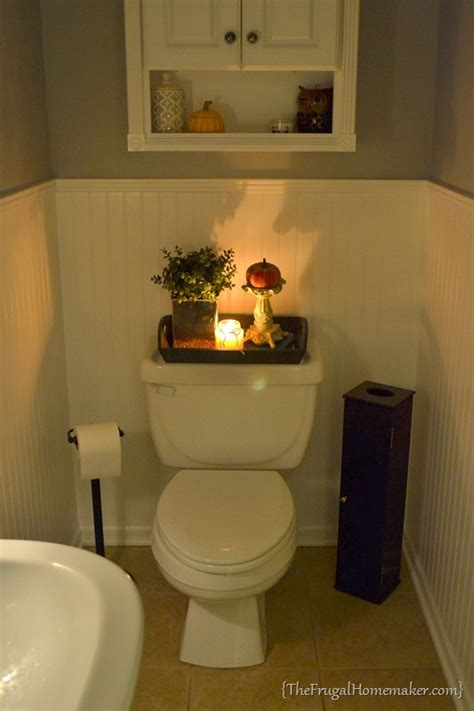Toilet Decor by Diy Mod Podged Chevron Tray Day 9 Of 31 Days Of