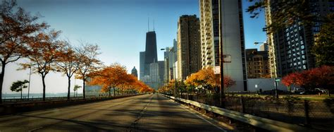 in color chicago autumn in chicago fall colors captured along the