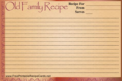 vintage recipe card psd template 17 recipe card templates free psd word pdf eps