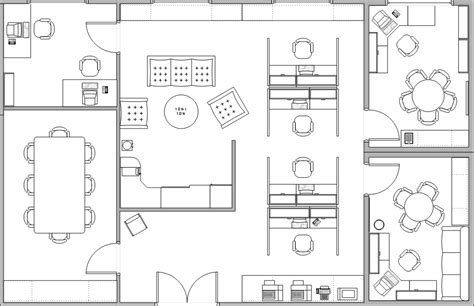 offices floor plans office plan iluminaci 243 n y acabados pinterest