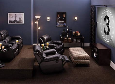 paint color ideas navy blue basement found on