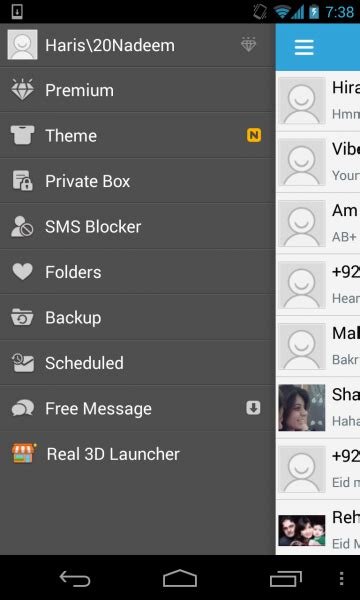 sms app for android apk go sms pro 5 34 1 apk for android now