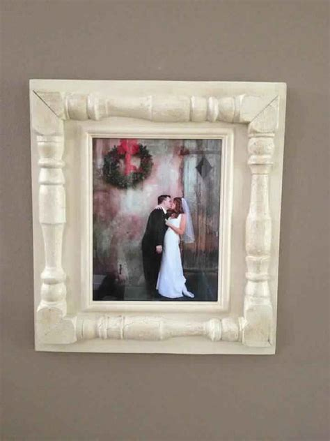 Picture Frames Handmade - items similar to distressed handmade picture frame 100