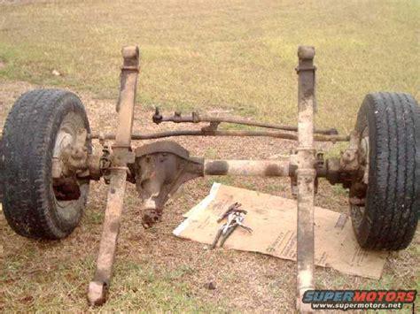 1984 ford bronco dana60 sas picture supermotors net
